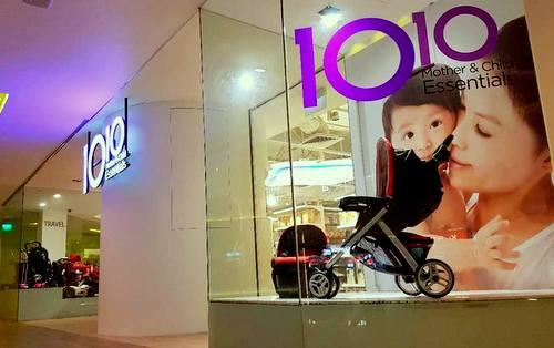 10 10 Mother & Child Essentials store at United Square shopping centre in Singapore.