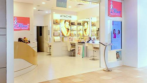 Allure Beauty Saloon at Tampines One mall in Singapore.