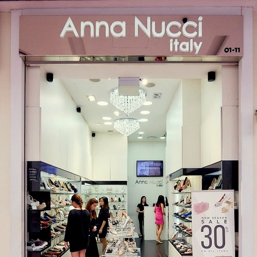 Anna Nucci shoe store at Jurong Point shopping centre in Singapore.
