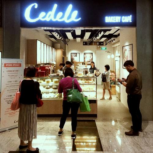 Cedele Bakery Cafe at Tanjong Pagar Centre in Singapore.