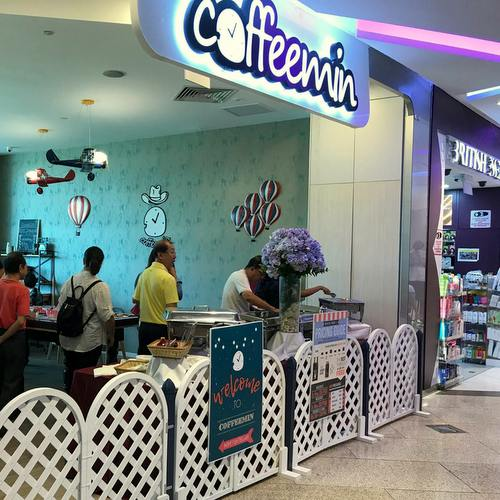 Coffeemin Cafe in Singapore.