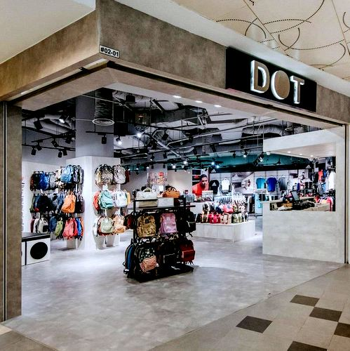 DOT store at Tampines 1 shopping centre in Singapore.