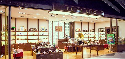 Elisa Litz shoe boutique at Bugis+ shopping mall in Singapore.