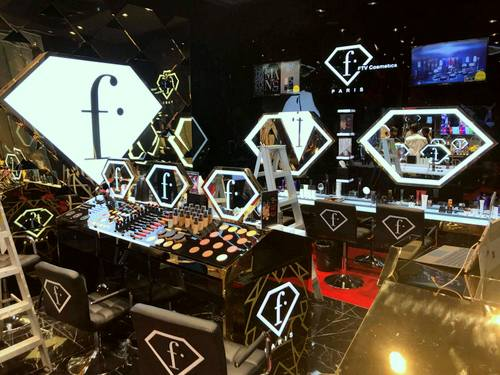 FashionTV Cosmetics shop in Singapore.