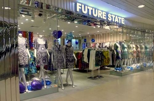 Future State clothing store at Junction 8 mall in Singapore.