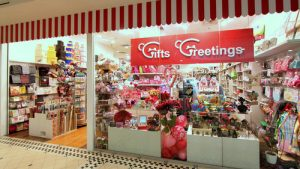 Gifts Greetings store at Tanglin Mall in Singapore.