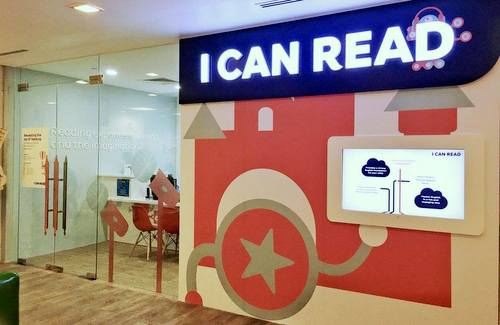 I Can Read English education centre at United Square in Singapore.