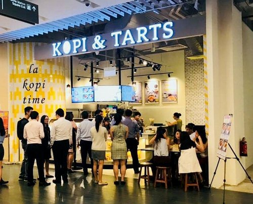 Kopi & Tarts by Mayson cafe at Marina One shopping mall in Singapore.