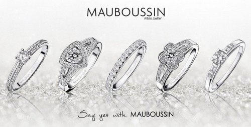 Mauboussin jewellery, available in Singapore.