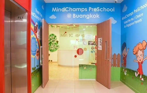 MindChamps PreSchool at Buangkok in Singapore.