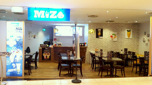 Mizu Cafe at City Square Mall in Singapore.