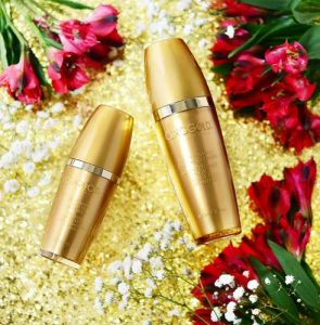 Orogold 24K Vitamin C cosmetics, available in Singapore.