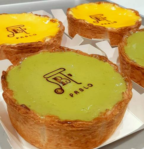PABLO cheese tarts, available in Singapore.