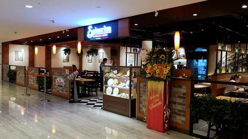 Saizeriya Italian Restaurant at Marina Square shopping centre in Singapore.