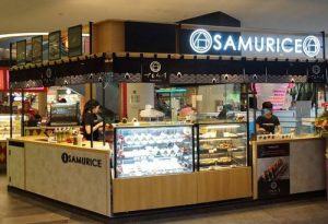 Samurice Japanese restaurant at Tanjong Pagar Centre in Singapore.