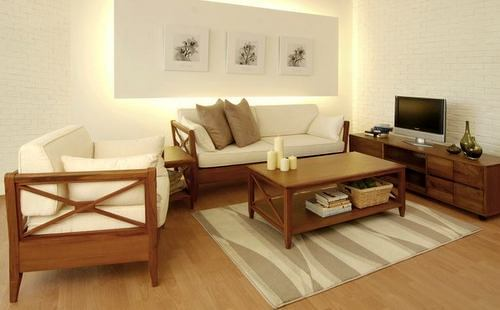 Scanteak living room furniture, available in Singapore.