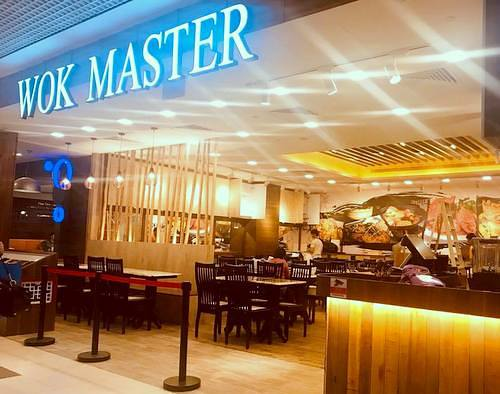 Wok Master restaurant at Westgate shopping centre in Singapore.