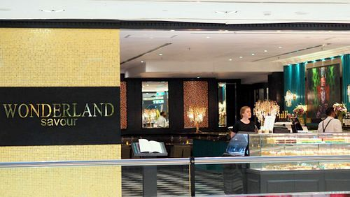 Wonderland Savour European restaurant at Wisma Atria shopping centre in Singapore.