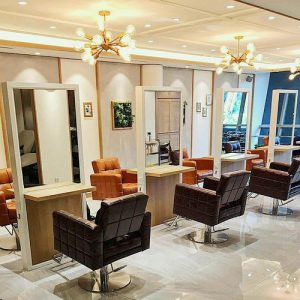 Aube beauty salon at Wheelock Place in Singapore.