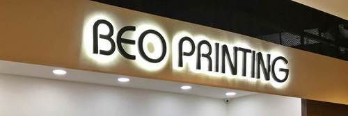 Beo Printing shop at Marina Square mall in Singapore.