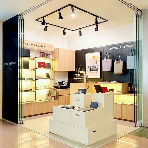 Bynd Artisan Atelier store in Singapore.