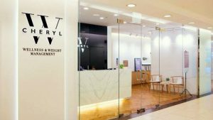 Cheryl W Wellness & Weight Management centre at Ngee Ann City in Singapore.