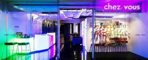 Chez Vous hair salon at Ngee Ann City in Singapore.