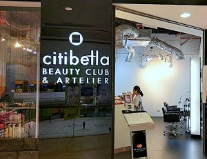 Citibella Beauty Club & Artelier salon in Singapore.