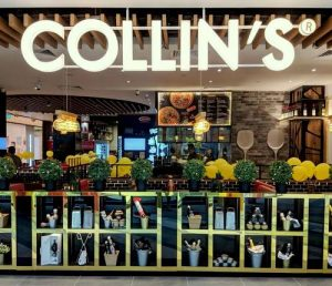 Collin's restaurant at Northpoint City shopping centre in Singapore.