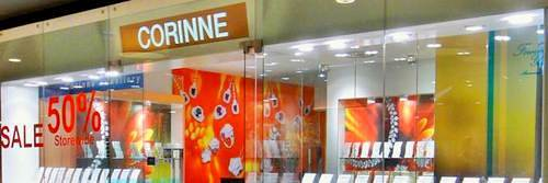 Corinne Jewelry store at Marine Square mall in Singapore.
