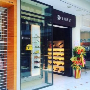 Everbest shoe store at Jurong Point shopping mall in Singapore.