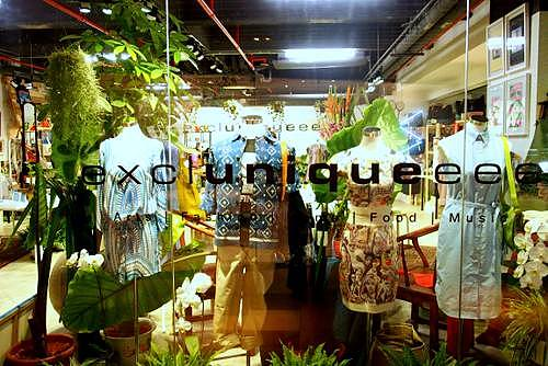 Excluniqueee design store at Mandarin Gallery mall in Singapore.