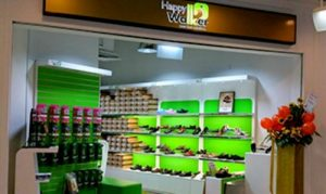 Happy Walker shoe store at AMK Hub shopping centre in Singapore.