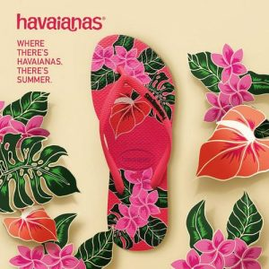 Havaianas flip-flops, available in Singapore.