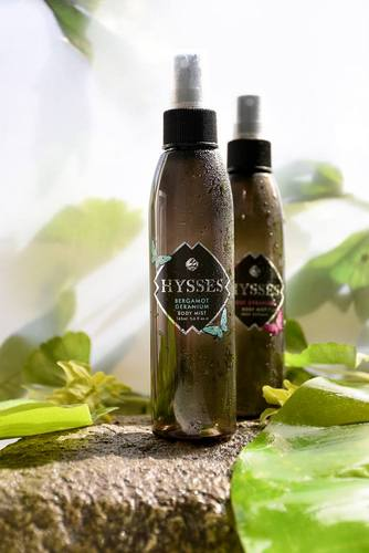 HYSSES body mist, available in Singapore.