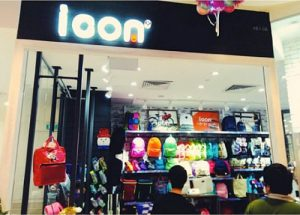 icon bag store at Bedok Mall in Singapore.