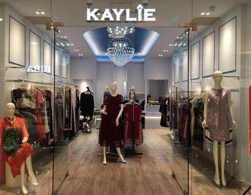 Kaylie clothing store at Marina Square shopping centre in Singapore.