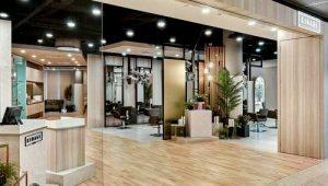 Kimage Cove hair salon at Marina Square shopping centre in Singapore.