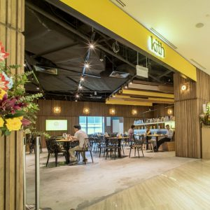 Kith Café at Marina Square shopping centre in Singapore.