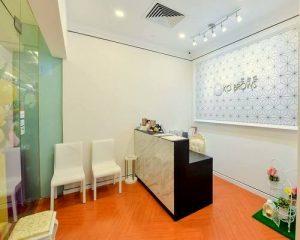 KO BROWS beauty salon at Marina Square shopping centre in Singapore.