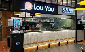 Lou Yau Taste of Malaysia restaurant at Changi Airport Terminal 4 in Singapore.