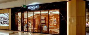Moynat bag store in Singapore.