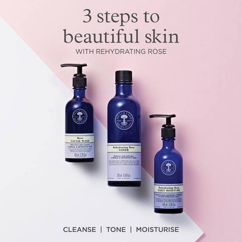 Neal's Yard Remedies Rehydrating Rose Collection, available in Singapore.