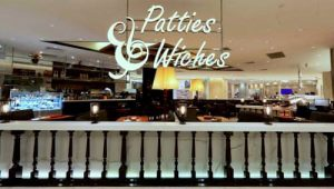 Patties & Wiches cafe at Ngee Ann City in Singapore.