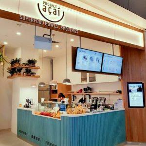 Project Açaí cafe at Vivocity shopping centre in Singapore.