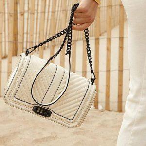 Rebecca Minkoff handbag, available in Singapore.