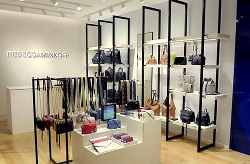 Rebecca Minkoff store at Ngee Ann City shopping centre in Singapore.