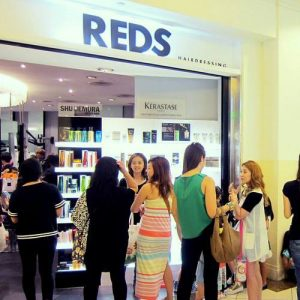 REDS Hairdressing salon in Singapore.