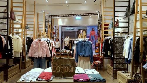 Rue Madame clothing store at Ngee Ann City in Singapore.