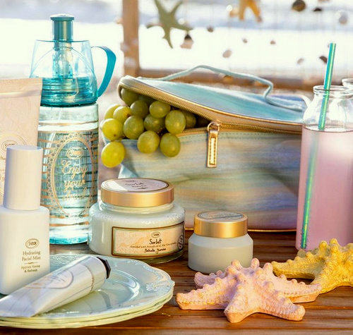 Sabon cosmetics, available in Singapore.